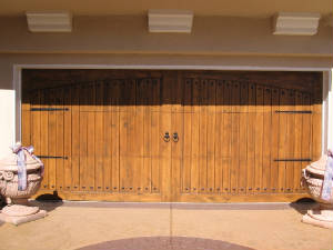 Alder Garage Door Refinishing Loomis