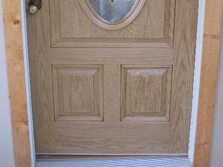 Front Door Restoration Fibreglass