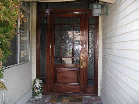 Front Door Refinishing Carmichael,ca